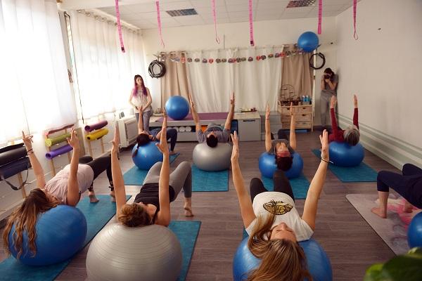 pilates avec ballon, swissball, petit matériel toulouse