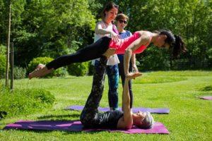 acro yoga jardin toulouse