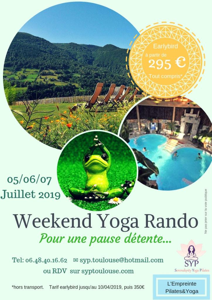 weekend yoga et rando juillet 2019