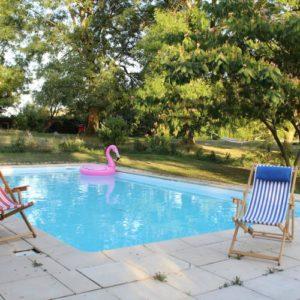 piscine pour weekend yoga et détente