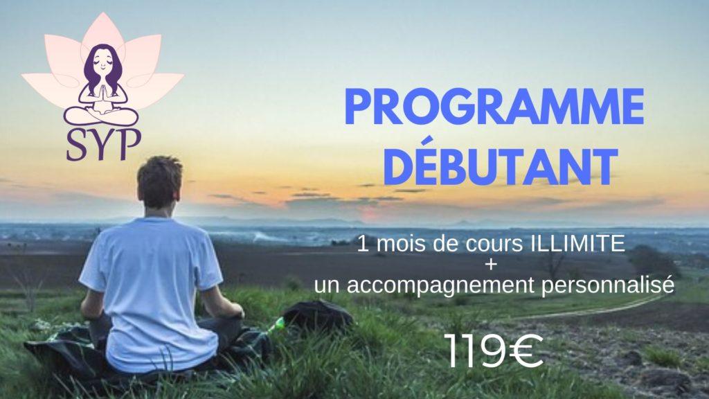 programme débutant